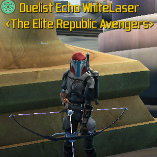 Echo in His dueling Gear