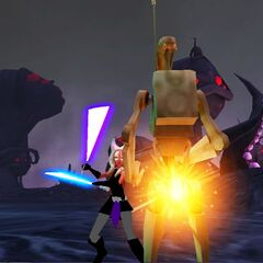 Zadira in Battle on Umbara seconds before Order 66