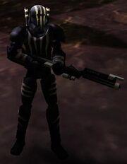 Orion Felucian Comando gear