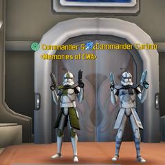 Commander Shox & Commander Carbon