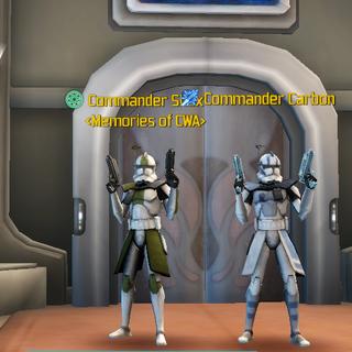 Commander Carbon & Commander Shox