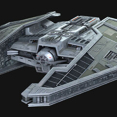 The Fury-Class Imperial Interceptor owned by Lady Kitty Revel, also known as Darth Nox, Avrria's mother.