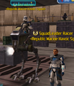 Racer and Luke at base