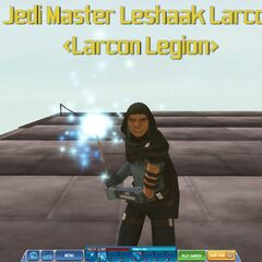 The leader himself, Leshaak Larcon