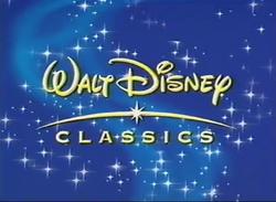 Walt Disney Classics 2001 Logo (Promo Variant)