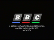 BBC Video 1995 Closing Logo