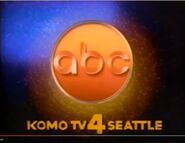 ABC-TV's Video ID With KOMO-TV Seattle Byline From Late 1984