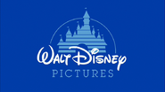 Walt Disney Pictures 1990 Logo (Seventh Flag Variant)