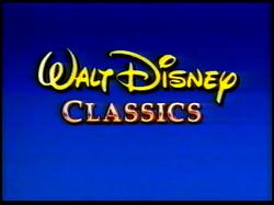 Walt Disney Classics 1994-1995 Logo (Promo Variant)