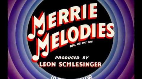 Merrie Melodies Intros y cierres (1 2) (1935-1949) En español