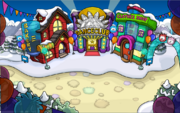 Puffle Party Town