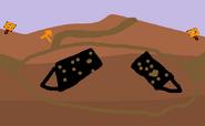 Mud battle place