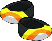 Candy Corn Shoes icon