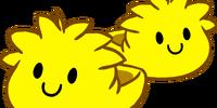 Yellow Puffle Slippers