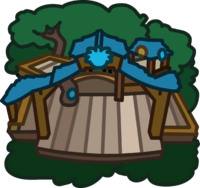 Blue Puffle Tree House icon