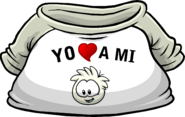 I Heart My White Puffle T-Shirt icon es