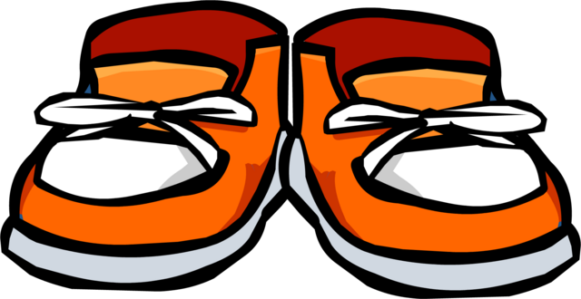 File:Orange Sneakers Icon 387.png