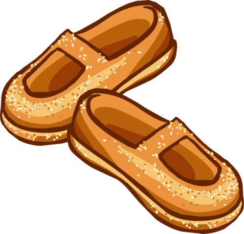 File:Sparkly Amber Shoes icon.png