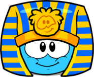 Pharaoh Hat in Puffle Interface