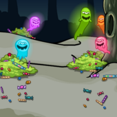 Candy Ghost BG photo