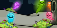 Candy Ghost BG