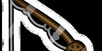 Old Fishing Rod Pin
