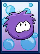 Purple Puffle Poster sprite 002
