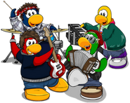 Club Penguin Band 2011