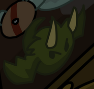 Dragon Puffle Halloween 2012