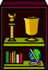 Burgundy Bookshelf sprite 004