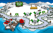 Penguin Games Dock