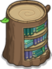 Stump Bookcase sprite 056
