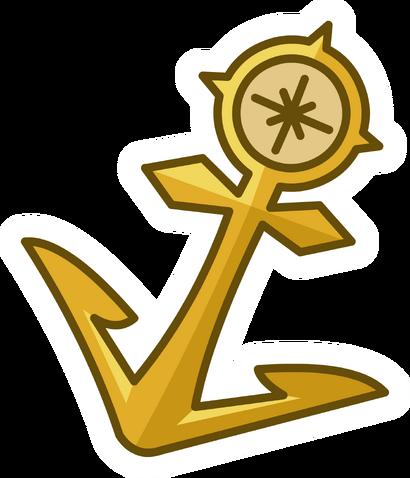 File:Gold Anchor Pin.png