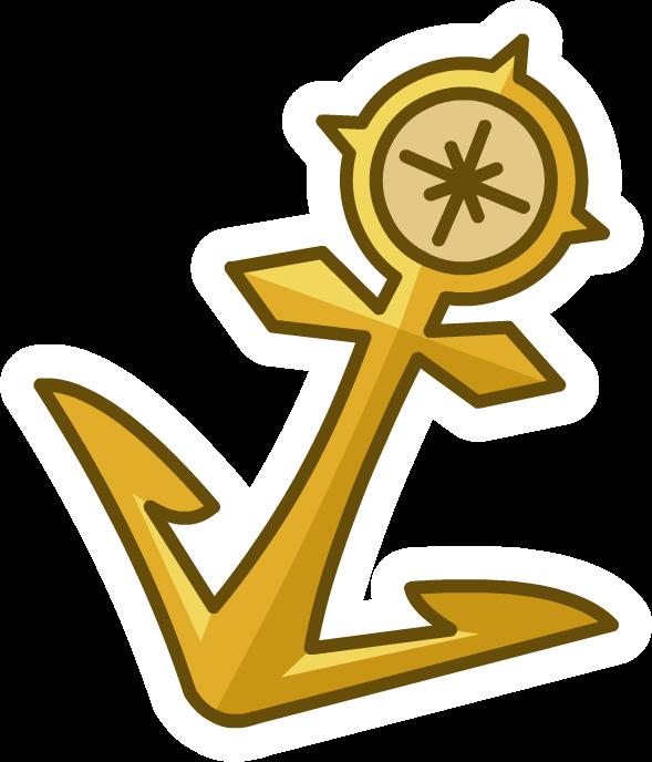Gold Anchor Pin.png