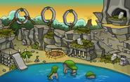 Prehistoric Party 2016 Ptero Town