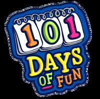 101 days of fun logo