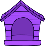 Purple Puffle House
