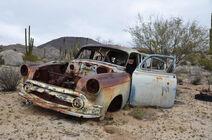A-dead-car-in-the-desert