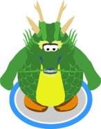 Ancient Green Dragon in-game