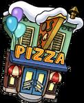 FestivalSnow2015PizzaParlorExterior