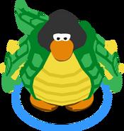 Swamp Monster Costume in-game