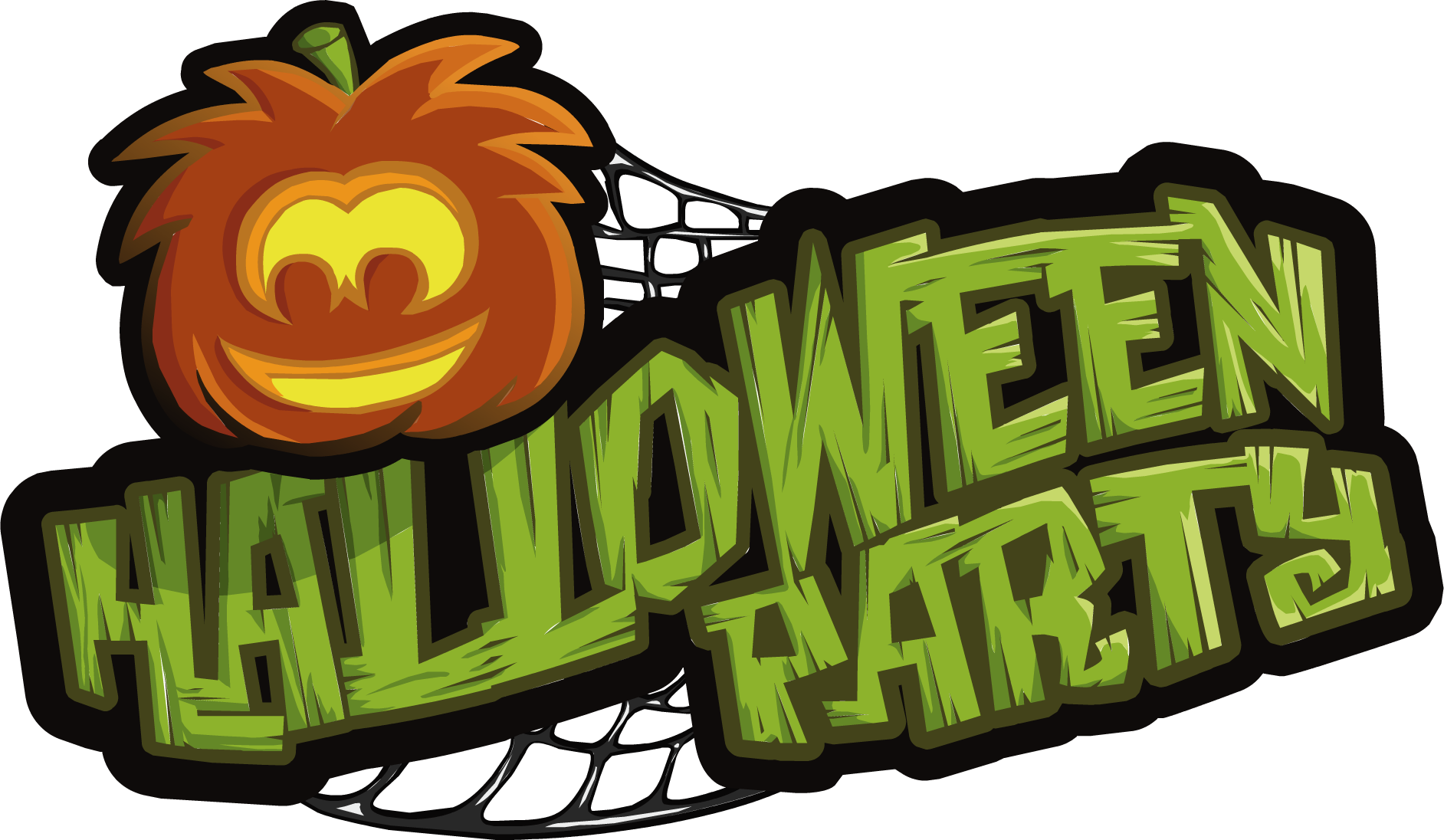 image halloween parties logopng club penguin wiki fandom powered by wikia - Party Halloween