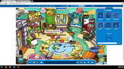 Mysterious Profile on Club Penguin