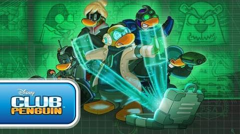 Agents in the Coffee Shop - Disney Club Penguin