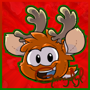 File:OrangePuffle Christmas Icon.png