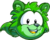 Puffle green1008 paper