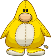 Yellow Penguin Stuffie icon