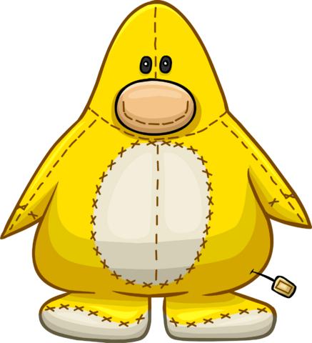 File:Yellow Penguin Stuffie icon.png