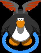 Bat Wing Headband in-game