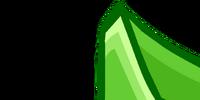 Green Flower Bikini